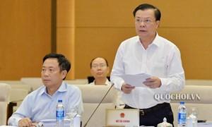 Trình Quốc hội cho ý kiến về Dự thảo Luật Chứng khoán (sửa đổi) tại Kỳ họp thứ 7