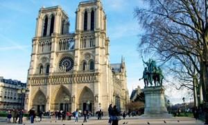 Kiến trúc độc đáo của Nhà thờ Đức Bà Paris