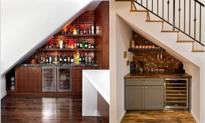 8 ý tưởng thiết kế gầm cầu thang