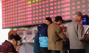 Trung Quốc hạ lãi suất cho vay, chứng khoán vẫn im ắng