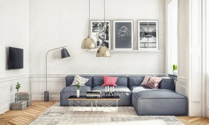 6 nguyên tắc lựa chọn sofa cho phòng khách nhỏ