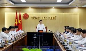 Bộ trưởng Hồ Đức Phớc: Bám sát và phấn đấu hoàn thành vượt mức dự toán thu ngân sách năm 2021