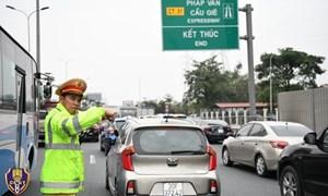 Chi tiết phân luồng giao thông dịp lễ 30/4-1/5 tại Hà Nội