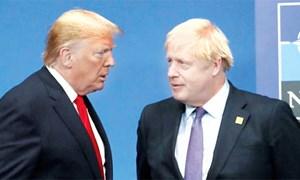 Khởi động đàm phán thương mại Anh - Mỹ: Thỏa thuận tham vọng