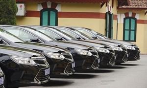 Định mức sử dụng ô tô công của đơn vị thuộc, trực thuộc cơ quan trung ương