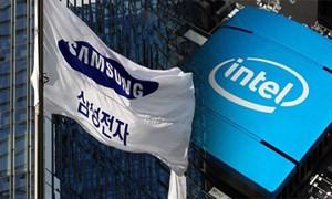 Samsung sắp soán ngôi tập đoàn bán dẫn số 1 thế giới của Intel