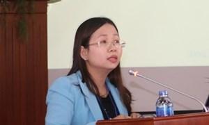 TS. Lê Thị Thùy Vân, Phó Viện trưởng Viện Chiến lược và Chính sách Tài chính