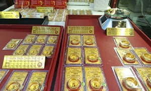 Giá vàng có thể vượt 1.850 USD tuần này?