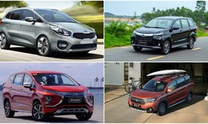 Thị trường xe MPV cỡ nhỏ và cuộc chơi của Mitsubishi và Suzuki