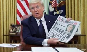 Tổng thống Trump ký sắc lệnh