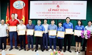 Bộ Tài chính phát động Ngày hội Hiến máu tình nguyện năm 2019