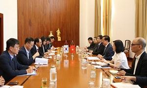 Thúc đẩy quan hệ hợp tác tài chính Việt Nam - Hàn Quốc phát triển sâu rộng
