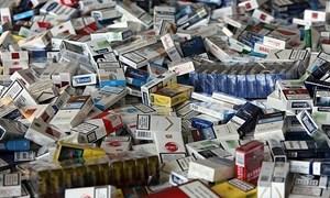 """Australia """"mạnh tay"""" với thuốc lá trái phép"""