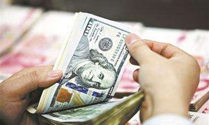 Dự trữ ngoại hối của Trung Quốc tăng