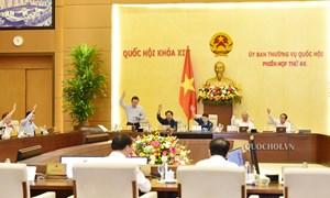 Ủy ban Thường vụ Quốc hội thống nhất bổ sung dự toán chi hành chính sự nghiệp cho Kiểm toán Nhà nước