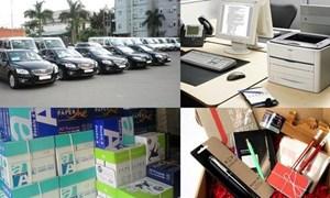 Mua sắm tài sản công vượt tiêu chuẩn, định mức bị phạt bao nhiêu?
