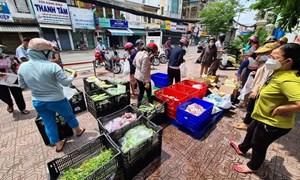 TP. Hồ Chí Minh công bố 30 điểm bán hàng lưu động phục vụ người dân
