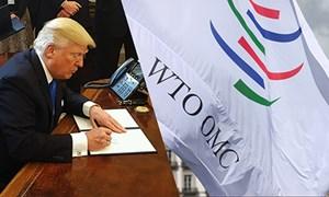 Tổng thống Donald Trump thúc ép WTO ngừng cho phép Trung Quốc và các nước giàu nhất thế giới nhận đối xử khoan hồng