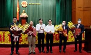 Công bố và trao quyết định bổ nhiệm hai Thứ trưởng Bộ Tài chính