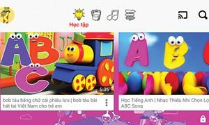 Ứng dụng giúp quản lý nội dung trẻ xem trên mạng