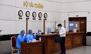 Bộ Tài chính triển khai thực hiện phòng, chống dịch bệnh Covid-19