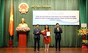 Bộ Tài chính trao giải cuộc thi Giải báo chí toàn quốc viết về ngành Tài chính năm 2020