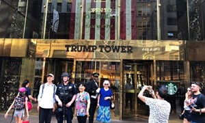 Trump là thương hiệu hàng hóa cao cấp