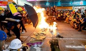 Gần hai tháng biểu tình, kinh tế Hồng Kông thiệt hại ra sao?