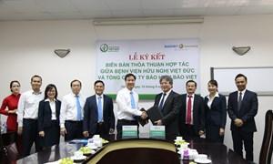 Bảo hiểm Bảo Việt và Bệnh viện Việt Đức mở rộng hợp tác bảo lãnh viện phí