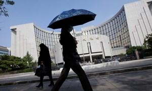 """Ngân hàng Trung ương Trung Quốc loại bỏ khả năng đưa ra gói kích thích tiền tệ quy mô """"khủng"""""""
