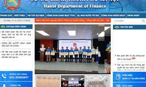 Tinh thần phát triển Chính phủ điện tử từ cơ quan tài chính địa phương