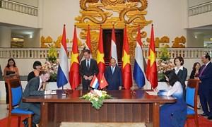 Thiết lập quan hệ hợp tác giữa hải quan Việt Nam và Hà Lan