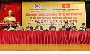 Cập nhật, giải đáp chính sách thuế, hải quan cho doanh nghiệp Hàn Quốc