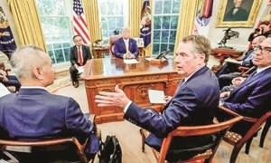 """Mỹ phác thảo thỏa thuận """"giai đoạn 1"""" với Trung Quốc"""