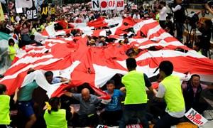 """Shinzo Abe: Hãy chuẩn bị tinh thần cho 5 năm quan hệ Nhật - Hàn """"đóng băng"""""""