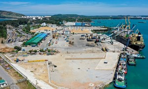 Kim ngạch xuất khẩu tăng giúp Quảng Ngãi tăng mạnh tổng thu ngân sách nhà nước