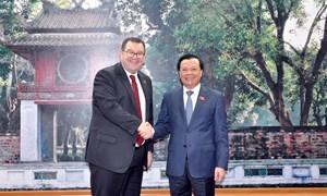 Củng cố hợp tác tài chính Việt Nam - New Zealand