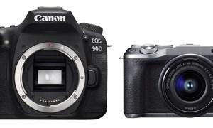 Canon ra mắt máy ảnh EOS 90D, EOS M6 Mark II chuyên chụp thể thao, quay Vlog