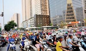 """Bất động sản Hà Nội: Kém hấp dẫn trước """"ma trận"""" hạ tầng"""