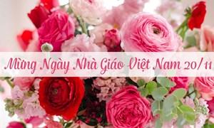 Bộ trưởng Đinh Tiến Dũng gửi thư chúc mừng nhân Ngày Nhà giáo Việt Nam