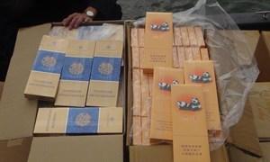 Bắt giữ 29.000 bao thuốc lá ngoại nhập lậu trị giá gần 300 triệu đồng