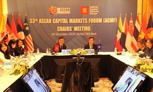 Thúc đẩy thực hiện các mục tiêu hội nhập thị trường vốn khu vực ASEAN