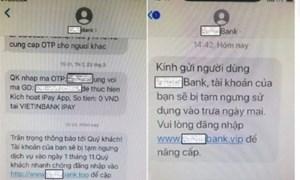 Bộ Công an cảnh báo thủ đoạn lừa đảo mới rất tinh vi: Giả mạo tin nhắn ngân hàng