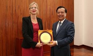 Bộ Tài chính Việt Nam thúc đẩy quan hệ đối tác Việt Nam - Thụy Điển
