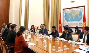 EU mong muốn phát triển hợp tác với Bộ Tài chính Việt Nam