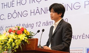 Ông Lê Minh Khiêm, Vụ Chính sách thuế, Bộ Tài chính