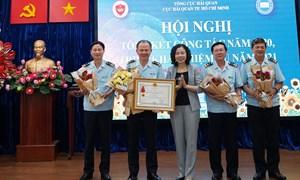 Hải quan TP. Hồ Chí Minh thu ngân sách chiếm gần 35% số thu toàn ngành Hải quan