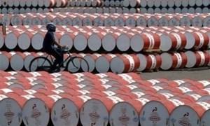 Giá dầu thế giới xuống thấp nhất 3 tuần