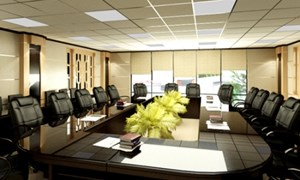 Văn phòng cao cấp lóe sáng