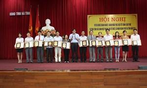 Cục Thuế Hà Tĩnh  tôn vinh 165 doanh nghiệp nộp thuế tốt